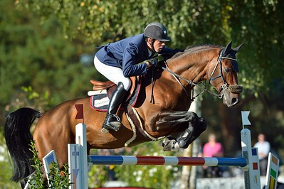 JUMPING AymericDE PONNAT sur Armitages Boy - CHAMPIONNAT DE FRANCE PRO ELITE 2012 - 30 SEPTEMBRE 2012 - FONTAINEBLEAU - © CHRISTOPHE BRICOT