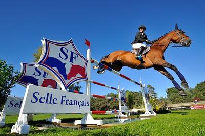 JUMPING AYMERIC AZZOLINO SUR LOOPING D'ELLE - CHAMPIONNAT DE FRANCE PRO ELITE 2012 - 30 SEPTEMBRE 2012 - FONTAINEBLEAU - © CHRISTOPHE BRICOT