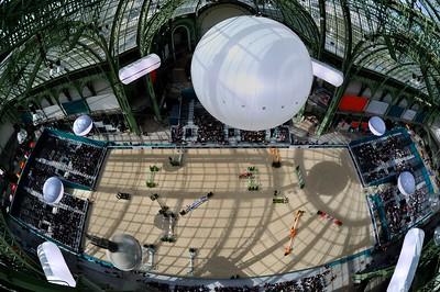 PARIS, GRAND PALAIS, SAUT HERMES 2013 -  VUE DU TOIT,VUE DE LA VERRIERE  12/13/14 AVRIL 2013 - JUMPING CSI5*- PHOTO © CHRISTOPHE BRICOT