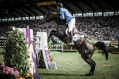 GERMANY, Aachen :  Christian AHLMANN riding on Codex One   during the Grand Prix of the World Equestrian Festival - CHIO of Aachen (Aix-la-Chapelle) July 11th to 20th, 2014 - 20/07/14 - Eventing - Photo Christophe Bricot.