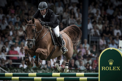 GERMANY, Aachen :  Gerco SCHRÖDER riding on Glock's London N.O.P.   during the Grand Prix of the World Equestrian Festival - CHIO of Aachen (Aix-la-Chapelle) July 11th to 20th, 2014 - 20/07/14 - Eventing - Photo Christophe Bricot.
