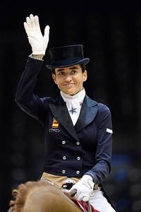 during the REEM ACRA FEI World Cup Dressage Grand Prix, Equita Lyon,
