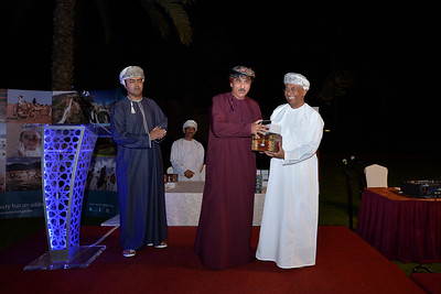 "Sultanat d'Oman : Soirée de gala, remises des prix des ""Gallops of Oman"" (Galops d'Oman) - Course d'endurance, Raid dans le désert, race in the desert - Photo Christophe Bricot"