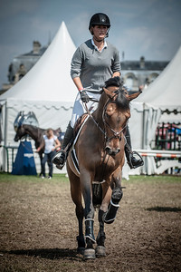 FRANCE, Chantilly :  Jessica SPRINGSTEEN riding on Zero   during the Grand Prix of the Longines Global Champions Tour in Chantilly, July 25th to 27th, 2014 - 26/07/14 - Photo Christophe Bricot.