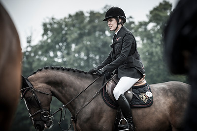 FRANCE, Chantilly :  CHARLOTTE CASIRAGHI (MON). COSTA VIRGIO  during the Grand Prix of the Longines Global Champions Tour in Chantilly, July 25th to 27th, 2014 - 26/07/14 - Photo Christophe Bricot.