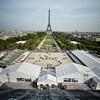during the Paris Eiffel Jumping ,