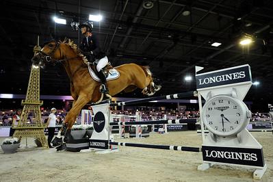 Penelope Leprevost sur Flora de Mariposa  during the Longines Grand Prix 2015, Longines Paris Masters