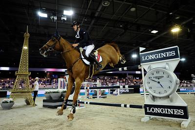 Bertram Allen sur Romanov  during the Longines Grand Prix 2015, Longines Paris Masters