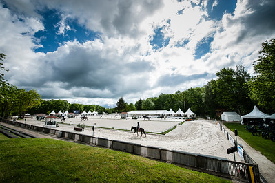 France, Compiègne : Ambiance, arena,  during the Dressage competition of the FEI CDIO5* of Compiègne on May 19th , 2016, in Compiègne, France - Photo Christophe Bricot