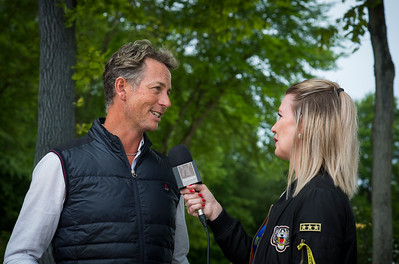France, Compiègne : Carl Hester, interview for FEI during the Prix Colas , Dressage competition of the CDI2* of Compiègne on May 21th , 2016, in Compiègne, France - Photo Christophe Bricot