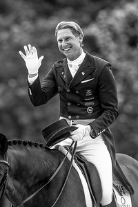 France, Compiègne :  Patrik Kittel (Sweden) riding delaunay  during the Grand Prix Barriquand, CDI3*, Dressage competition of the FEI CDIO5* of Compiègne on May 19th , 2016, in Compiègne, France - Photo Christophe Bricot