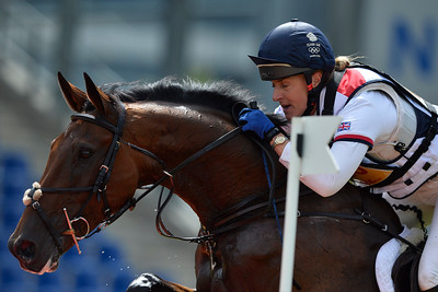 Germany, Aachen : Kristina COOK riding Calvino II during the CHIO of Aachen, World Equestrian Festival,  in July 16th , 2016, in Aachen, Germany - Photo Christophe Bricot