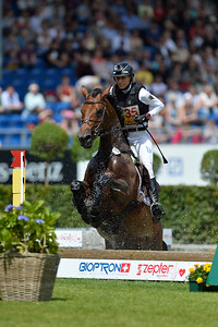 Germany, Aachen : Ingrid KLIMKE riding SAP Escada FRH during the CHIO of Aachen, World Equestrian Festival,  in July 16th , 2016, in Aachen, Germany - Photo Christophe Bricot