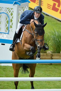 Germany, Aachen : Scott BRASH riding Ursula XII  during the Rolex Grand Prix ,  CHIO of Aachen, World Equestrian Festival,  in July 17th , 2016, in Aachen, Germany - Photo Christophe Bricot