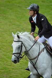Germany, Aachen : Sergio ALVAREZ MOYA riding Carlo 273 during the Rolex Grand Prix ,  CHIO of Aachen, World Equestrian Festival,  in July 17th , 2016, in Aachen, Germany - Photo Christophe Bricot