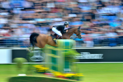 Germany, Aachen : Sergio ALVAREZ MOYA riding Arrayan during the CHIO of Aachen, World Equestrian Festival,  in July 16th , 2016, in Aachen, Germany - Photo Christophe Bricot