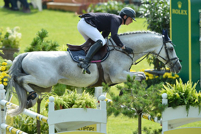 Germany, Aachen : Felix HaßMANN riding Cayenne WZ during the CHIO of Aachen, World Equestrian Festival,  in July 16th , 2016, in Aachen, Germany - Photo Christophe Bricot