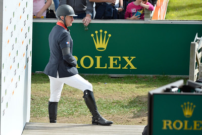 Germany, Aachen :  Roger-yves Bost  during the CHIO of Aachen, World Equestrian Festival,  in July 16th , 2016, in Aachen, Germany - Photo Christophe Bricot