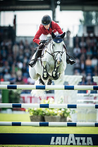 Germany, Aachen : Laura KRAUT riding Cavalia  during the CHIO of Aachen, World Equestrian Festival,  in July 15th , 2016, in Aachen, Germany - Photo Christophe Bricot