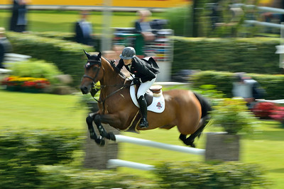 Germany, Aachen : Tiffany FOSTER riding Victor during the CHIO of Aachen, World Equestrian Festival,  in July 16th , 2016, in Aachen, Germany - Photo Christophe Bricot