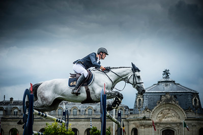 France, Chantilly : Olivier Philipaerts riding H&M Legend of Love during the Longines Global Champions Tour Grand Prix of Chantilly on May 28th , 2016, in Chantilly, France - Photo Christophe Bricot