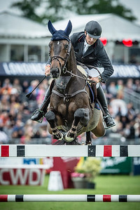 France, Chantilly : Leopold Van Asten riding VDL Groep Zidane N.O.P during the Longines Global Champions Tour Grand Prix of Chantilly on May 28th , 2016, in Chantilly, France - Photo Christophe Bricot