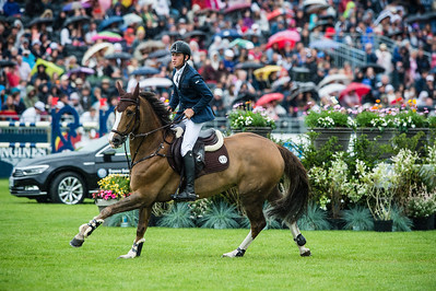 France, Chantilly : Scott Brash riding Hello Forever during the Longines Global Champions Tour Grand Prix of Chantilly on May 28th , 2016, in Chantilly, France - Photo Christophe Bricot
