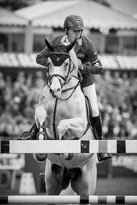 France, Chantilly : Christian Ahlmann riding Colorit during the Longines Global Champions Tour Grand Prix of Chantilly on May 28th , 2016, in Chantilly, France - Photo Christophe Bricot