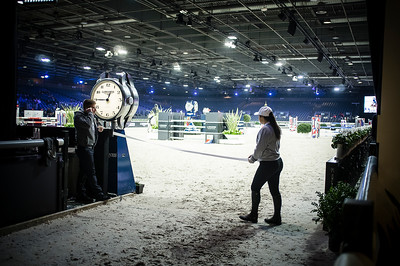 France, Villepinte : Ambiance  during the Longines Masters Paris, on  December 2th , 2016, in Villepinte, France - Photo Christophe Bricot