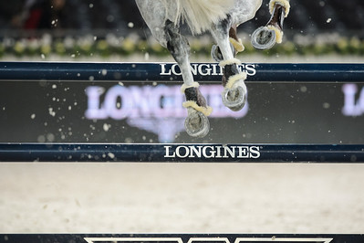 France, Villepinte : Eugenio Grimaldi riding Quidam S Moonlight Dancing during the Longines Masters Paris, on  December 2th , 2016, in Villepinte, France - Photo Christophe Bricot