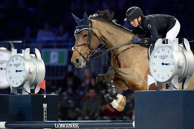 France, Villepinte : Jane Richard Philips  riding Foica van den Bisschop during the Longines Masters Paris, on December 3rd , 2016, in Villepinte, France - Photo Christophe Bricot