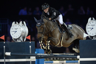 France, Villepinte : Timothee Anciaume riding Australia  during the Pro-Am for Charity Presented by Hyatt, at the Longines Masters Paris, on December 3rd , 2016, in Villepinte, France - Photo Christophe Bricot