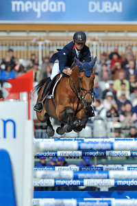 SAUT D'OBSTACLES - JUMPING : LE CAVALIER FRANCAIS OLIVIER GUILLON SUR LORD DE THEIZE EN ACTION LORS DE LA COUPE DES NATIONS DU JUMPING INTERNATIONAL DE FRANCE - CSI5* DE LA BAULE 2010 - STADE FRANCOIS-ANDRE - DU 13 AU 16 MAI 2010 - DIGITAL IMAGE - © CHRISTOPHE BRICOT