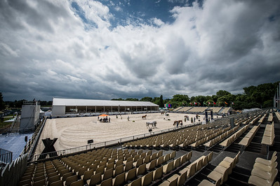 France, Paris : Jumping Arena during the Longines Paris Eiffel Jumping, Global Champions Tour in June 30th , 2016, in Paris, France - Photo Christophe Bricot