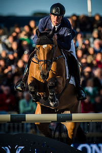 France, Paris : Scott Brash riding Ursula XII during the Longines Paris Eiffel Jumping, Global Champions Tour in July 2th , 2016, in Paris, France - Photo Christophe Bricot