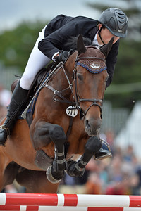 France, Paris : Philip Houston riding Kannella during the Longines Paris Eiffel Jumping, Global Champions Tour in July 2th , 2016, in Paris, France - Photo Christophe Bricot