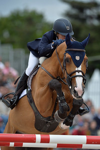 France, Paris : Kimberly Prince riding RMF Fara van de Maltahoeve during the Longines Paris Eiffel Jumping, Global Champions Tour in July 2th , 2016, in Paris, France - Photo Christophe Bricot