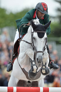 France, Paris : Abdelkebir Ouaddar riding Cordano Sitte Z during the Longines Paris Eiffel Jumping, Global Champions Tour in July 2th , 2016, in Paris, France - Photo Christophe Bricot