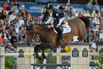 France, Paris : Marlon Módolo Zanotelli riding Madame Butterfly during the Longines Paris Eiffel Jumping, Global Champions Tour in July 2th , 2016, in Paris, France - Photo Christophe Bricot