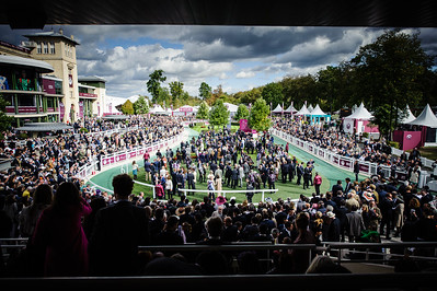 {country}, {city} : ambiance during the 95th Qatar Prix de l'Arc de Triomphe on  October 2nd , 2016, in {city}, {country} - Photo Christophe Bricot / Dppi