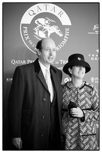 Hervé Morin pendant le 95e Prix Qatar Arc de Triomphe, le 2 Octobre 2016, à Chantilly, France - Photo Christophe Bricot / Bestimage