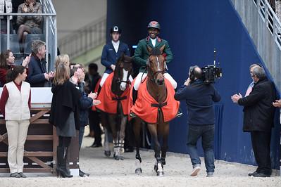during the Grand Prix of the Saut-Hermès , Grand-Palais,