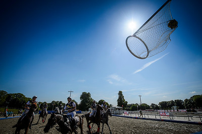 France, Marnes-la-Coquette :  Illustration during the French Horse Ball Championship 2017, on June 17th , 2017, in Marnes-la-Coquette, France - Photo Christophe Bricot