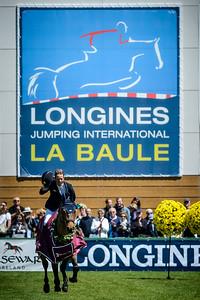 France, La Baule : Winner of the Derby, Maikel Van Der Vleuten riding Vdl Groep Quatro  during the Derby, Derby des régions des Pays de la Loire, FEI Longines International Jumping of La Baule , on May {day th , {year4}, in La Baule, France - Photo Christophe Bricot