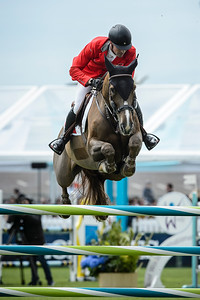 France, La Baule : Romain Duguet riding Twentytwo Des Biches during the FEI Nations Cup, Longines International Jumping of La Baule , on May 12th , 2017, in La Baule, France - Photo Christophe Bricot