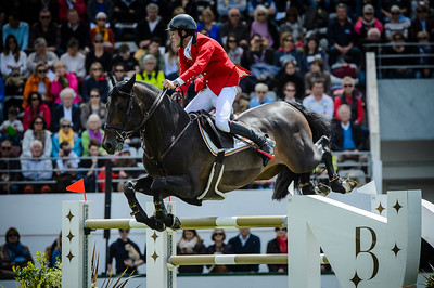 France, La Baule : Constant Van Paesschen riding Carlow Van De Helle during the FEI Nations Cup, Longines International Jumping of La Baule , on May 12th , 2017, in La Baule, France - Photo Christophe Bricot