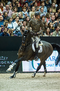 France, Lyon : Alberto ZORZI (ITA) riding Contanga 3 during Equita'Masters competition, Equita Lyon, on November 4 , 2017, in Lyon, France - Photo Christophe Bricot