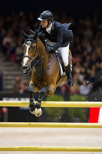France, Lyon : Sergio ALVAREZ MOYA (ESP) riding G&C Arrayan during the Longines Grand Prix,  Equita Lyon, on November 3 , 2017, in Lyon, France - Photo Christophe Bricot