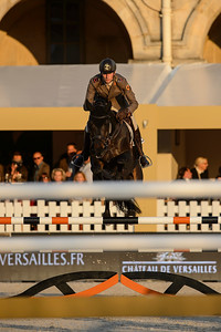 France, Versailles : Alberto ZORZI riding CORNETTO K during the Versailles Castle Show Jumping at the stables of the kings, on May 5th , 2017, in Versailles, France - Photo Christophe Bricot