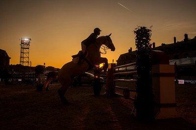 France, Versailles : Kent FARRINGTON riding DUBLIN during the Versailles Castle Show Jumping at the stables of the kings, on May 5th , 2017, in Versailles, France - Photo Christophe Bricot